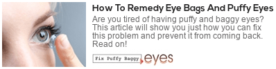 get more and better quality sleep fix puffy baggy eyes