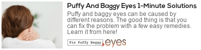 use salt wisely fix puffy baggy eyes