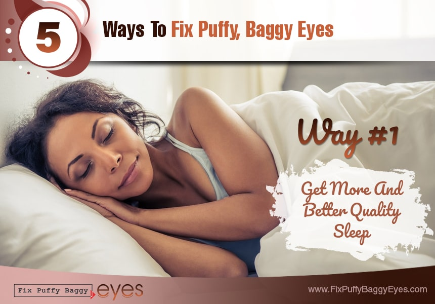 improve your diet fix puffy baggy eyes